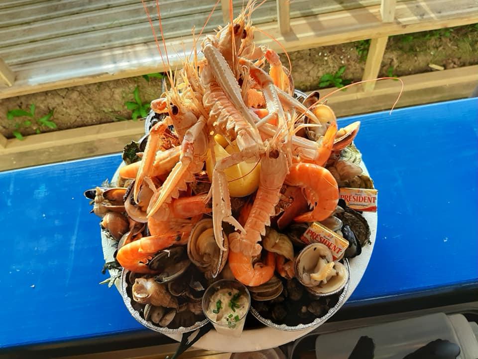 Commande de fruits de mer